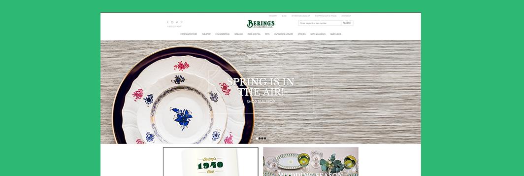Berings portfolio ringside design houston web development ringside design berings junglespirit Gallery