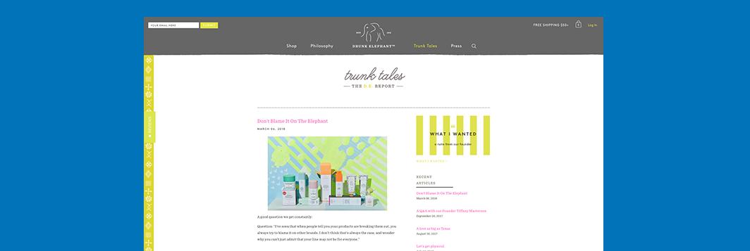 Ringside Design Drunk Elephant UK