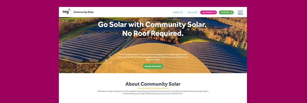Ringside Design NRG Community Solar