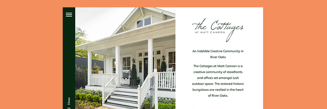 Ringside Design The Cottages at Matt Camron